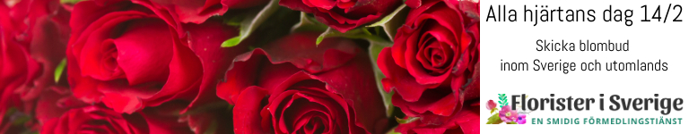Röda rosor - beställ ett blomsterbud hos Florister i Sverige.